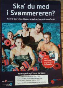 Kom til Store Vanddag i Snejbjerg Svømmehal